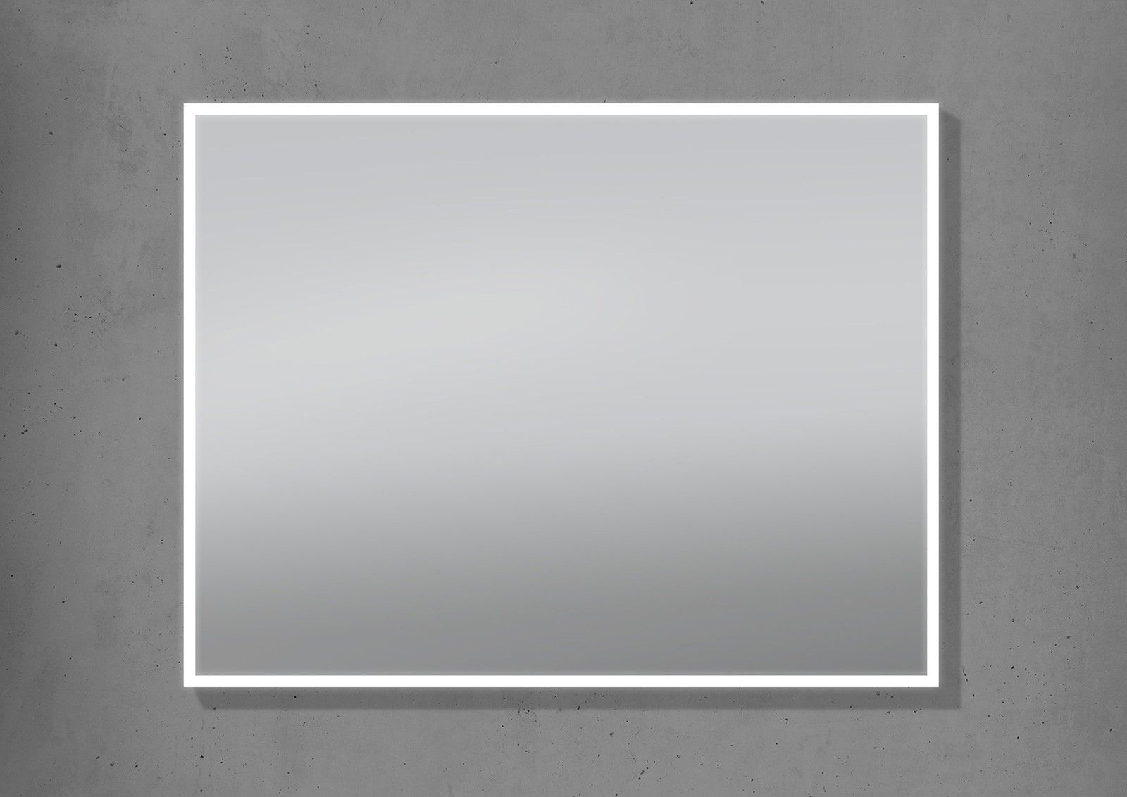Badspiegel Mit Led Beleuchtung 90x70cm Lichtspiegel Made Living