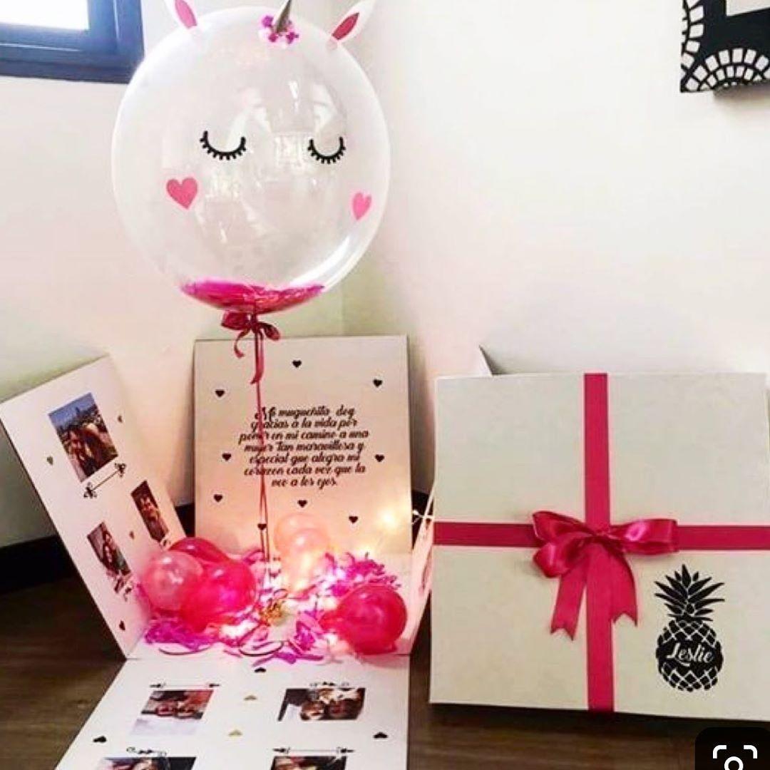 Sorprese Per Un Compleanno c'è un pacco regalo per te. effetto sorpresa