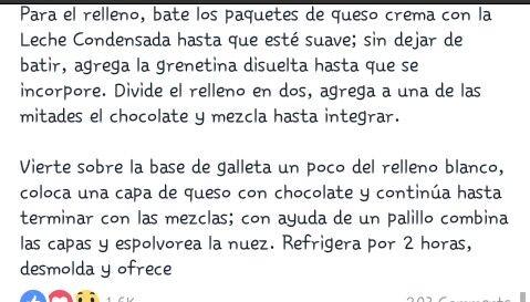 Cheescake frio de chocolate #2 #Preparacion