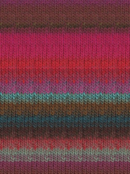 Noro Kureyon - Hot pink, Brown, Turquoise, Blue | Knitting Fever
