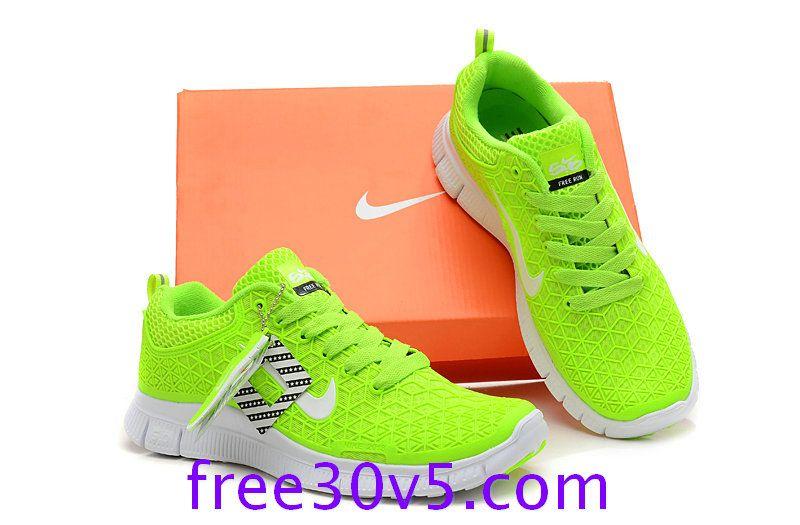 nike free run 5.0 fluorescent yellow
