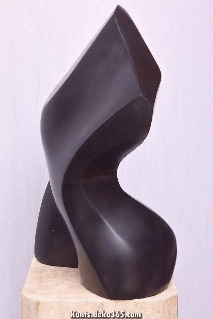 Ideal zum Verkauf auch 1stdibs - Genau diese prächtige schwarze Steinskulptur von Masatoyo .....