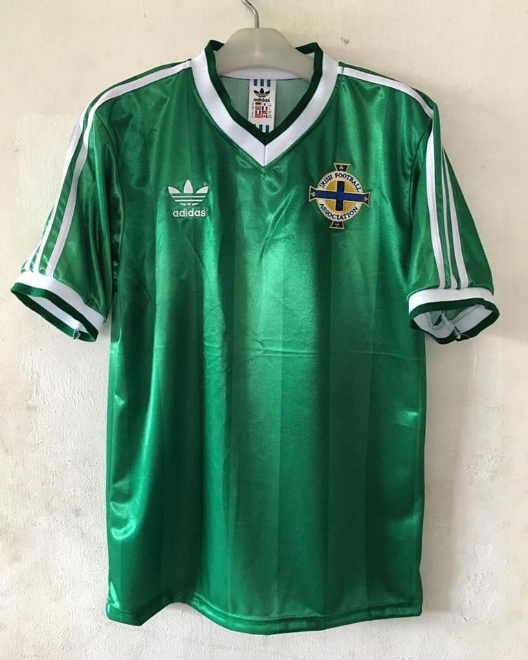 bae55cc4ef9 1986 Northern Ireland Home Shirt