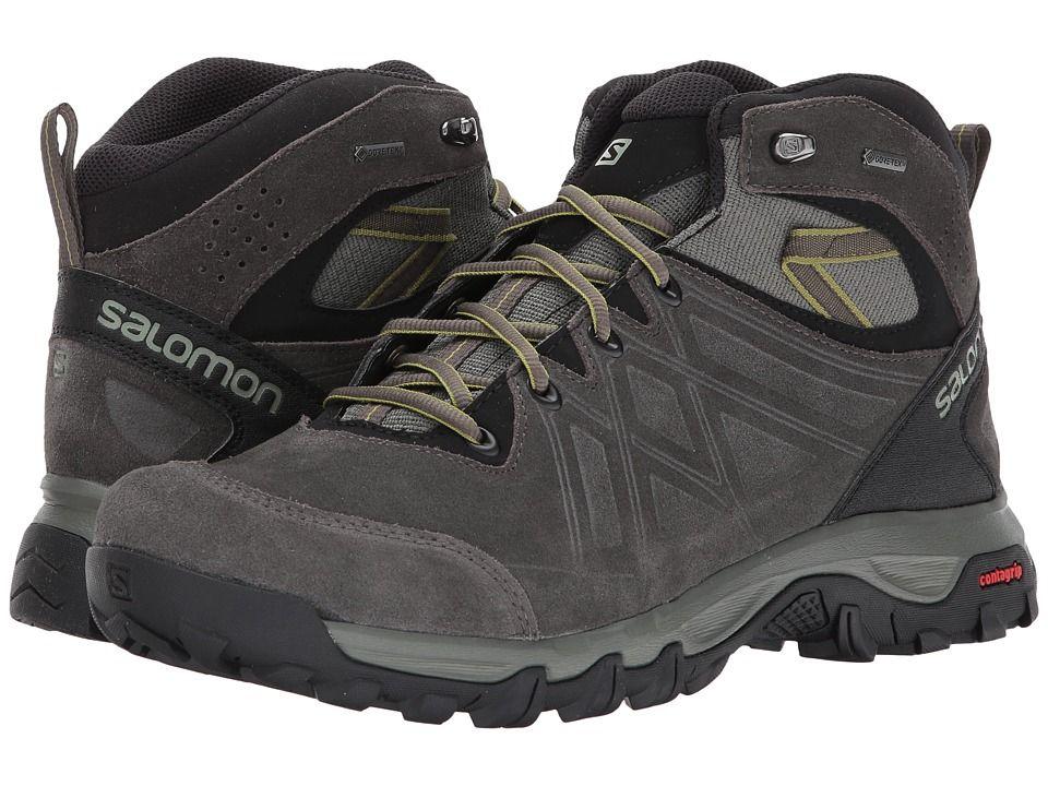 3c994dad Salomon Evasion 2 Mid LTR Gtx(r) Men's Shoes Castor Gray/Beluga ...