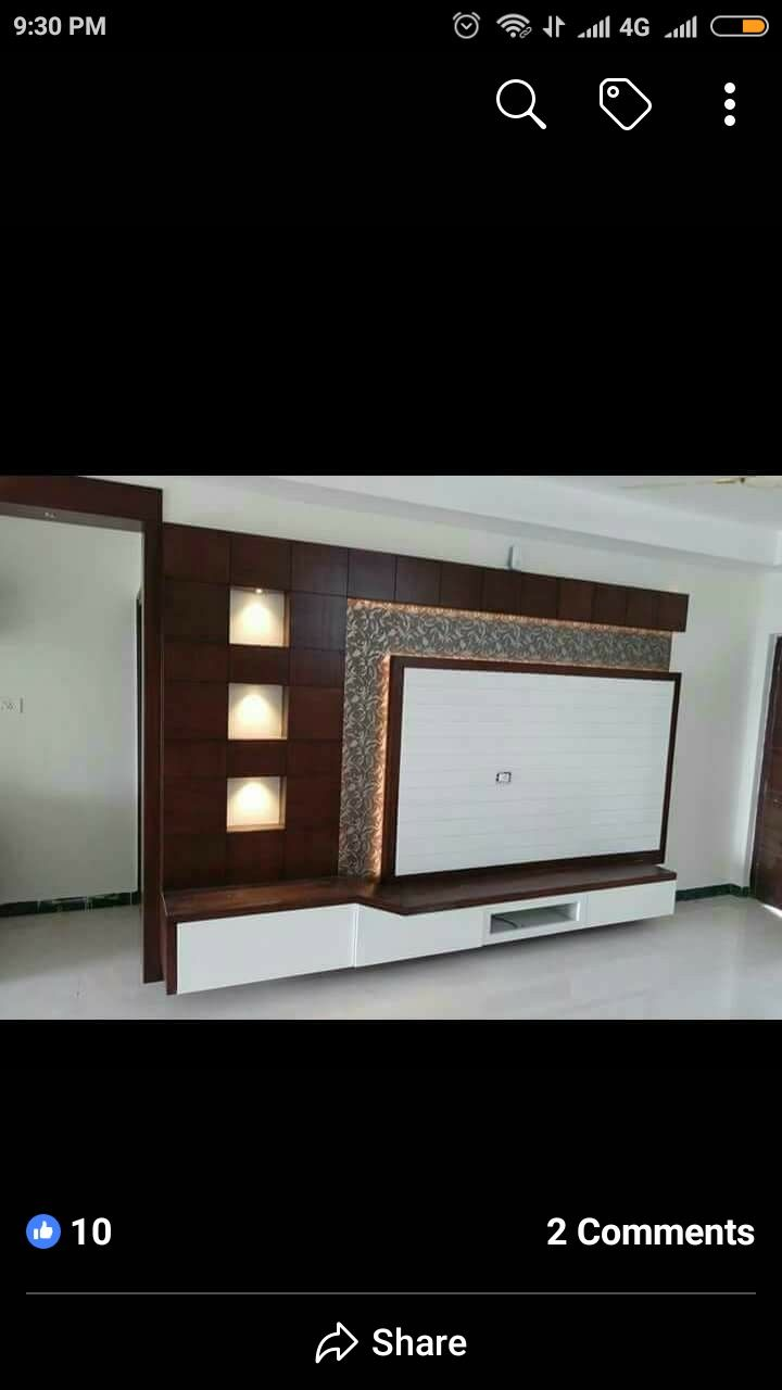 Lcd Panel Design Tv Unit Design Tv: Idea By PREM WOOD WORK On Parkash Carpenter 9052842398