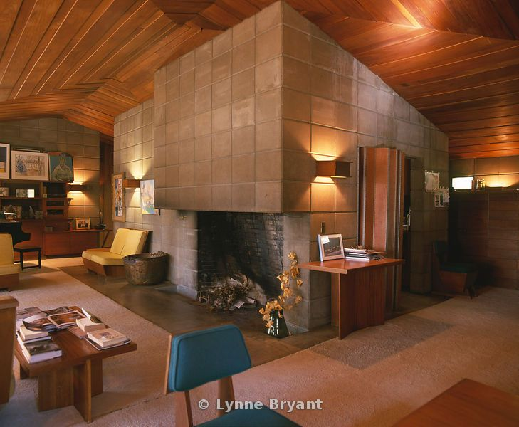 Eric V Brown House. 1953. Kalamazoo, Michigan. Usonian Style. Frank Lloyd Wright
