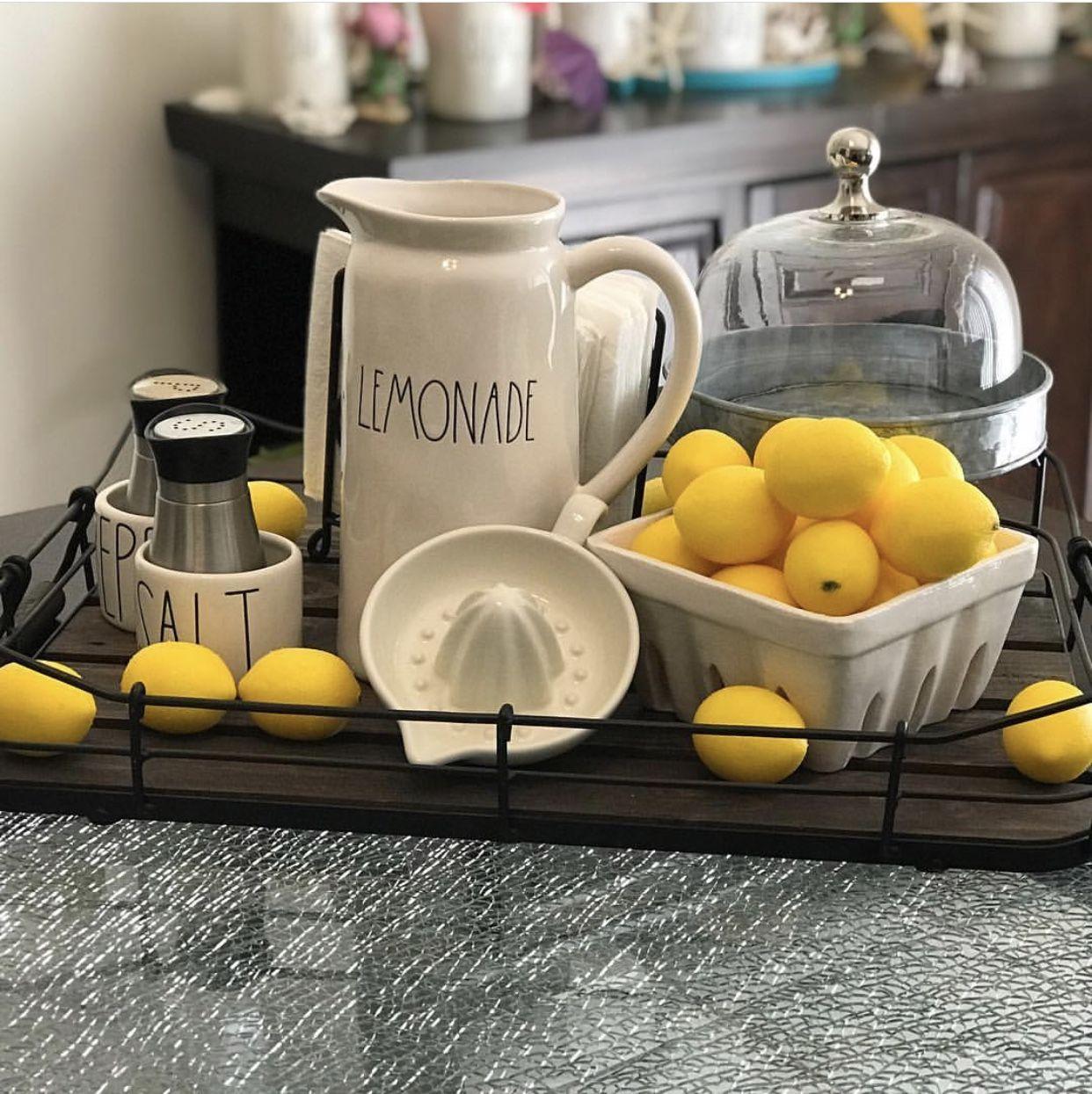 Lemon Kitchen Decor At Target: Pin By RaeLene Ruzycki On Rae Dunn In 2019