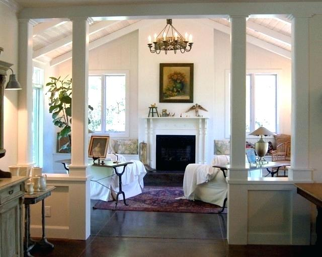Columns In Traditional Homes Interior Google Search Modern Room Living Room Remodel Small Basement Remodel