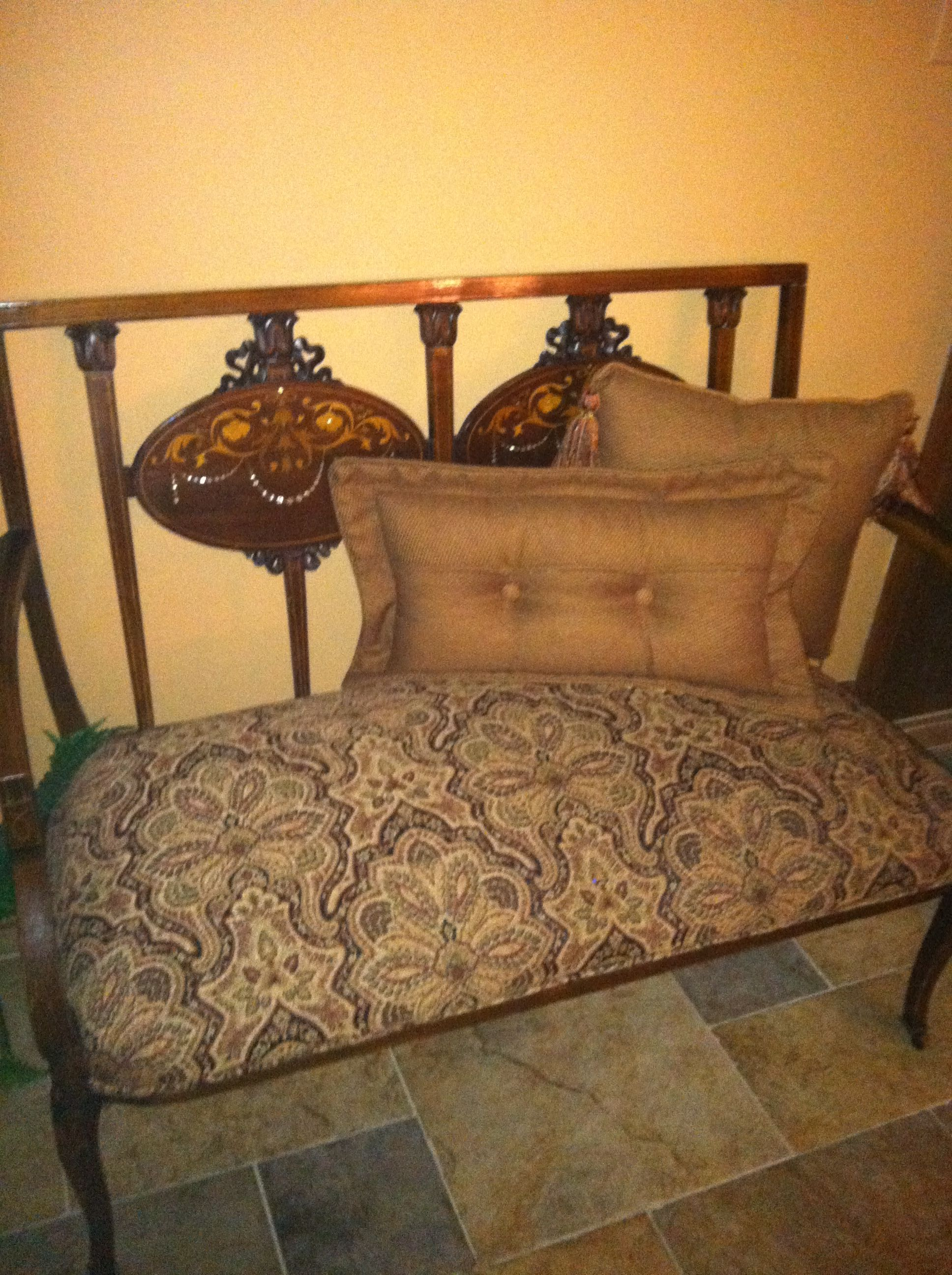 Lovely antique settee