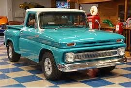 Turquoise Chevy Stepside Truck Chevy Stepside Chevy Trucks