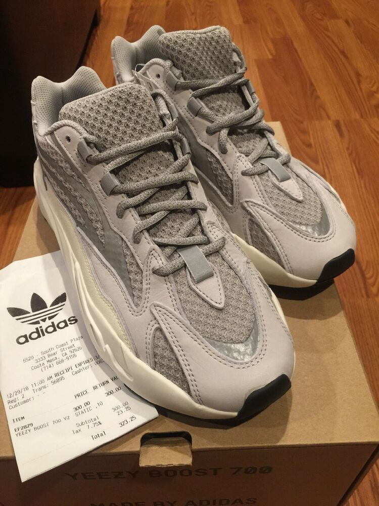 6375da8acf5 (eBay Sponsored) New Adidas Yeezy Boost 700 V2 Static Triple White Size 10  NIB DS With Receipt