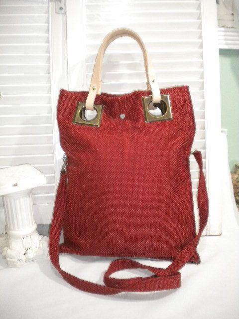 Foldover Messenger Bag / Foldover Shoulder Bag by maycascollection, $35.00