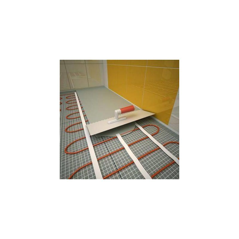 Chauffage De Confort Par Sol Rayonnant Sous Carrelage Kit Matt 160w M 260 W Sud Rayonnement In 2020 Basement Renovations Basement Stairs Home Remodeling