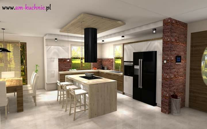 Pin by Żelka Panterka on kuchnie Pinterest - küchen mit granit arbeitsplatten