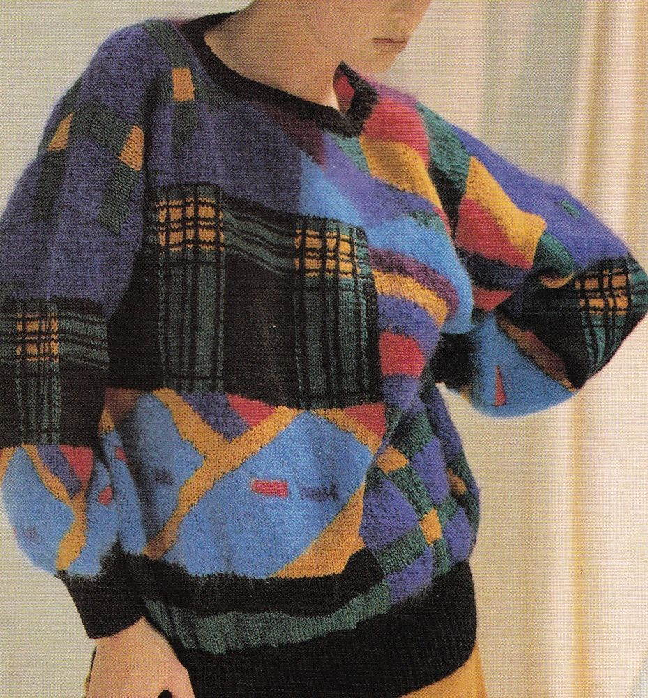 Vintage BOND Knitting Machine Pattern Instructions for Ladies Jumper ...