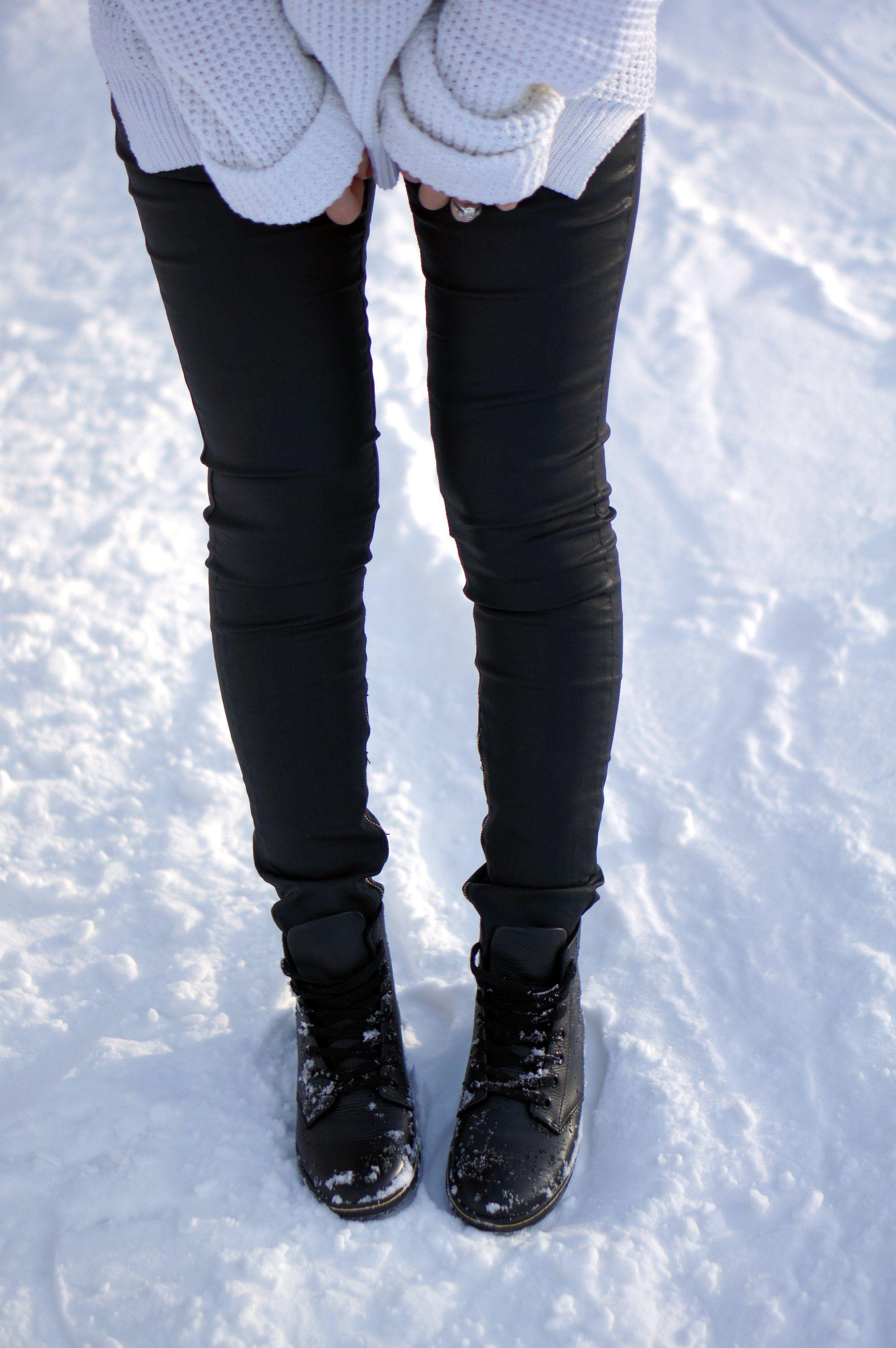 f2dc610e4a9 Snow Look...Dr.Martens Leyton boots!