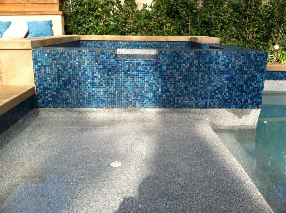 Captivating Swimming Pool Tile Repair with Glass Mosaic Pool ...