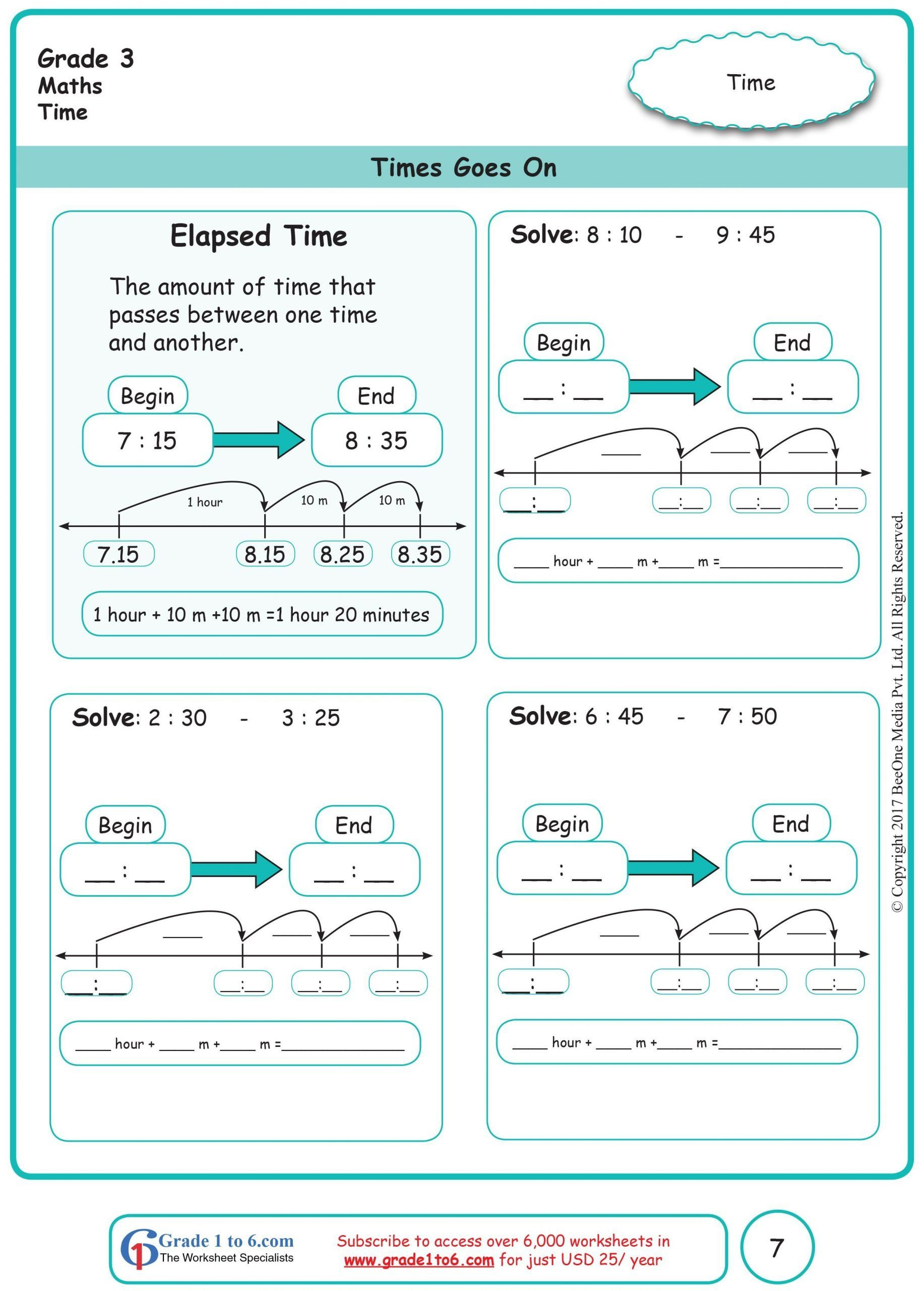 small resolution of Elapsed Time Worksheet 3rd Grade Elapsed Time Worksheets In 2020   Time  worksheets
