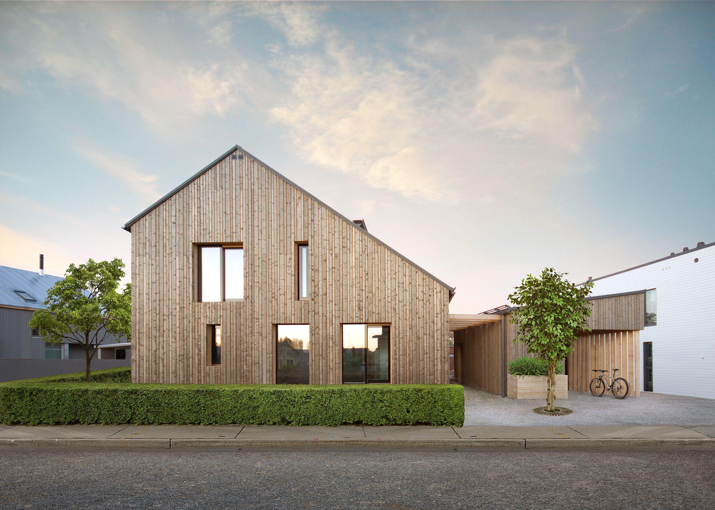 Savukvartsi An Ecological Log Home For Three Generations Honka Log Homes Scandinavian Modern House Modern House Exterior Scandinavian Architecture