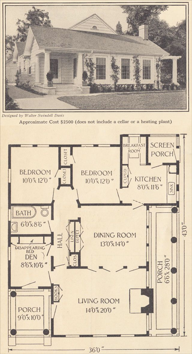 Old Time House Plans House Plans