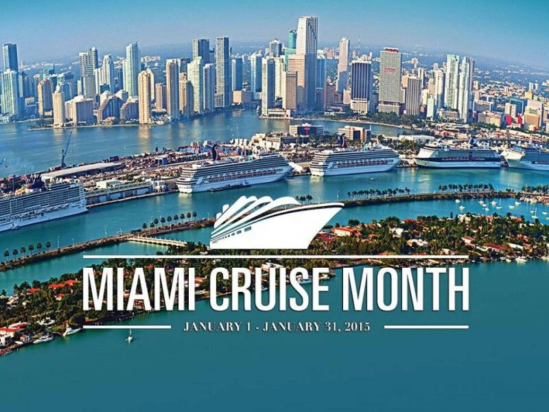 January Is Miami Cruise Month Let Port Miami The Cruise - Miami cruise month