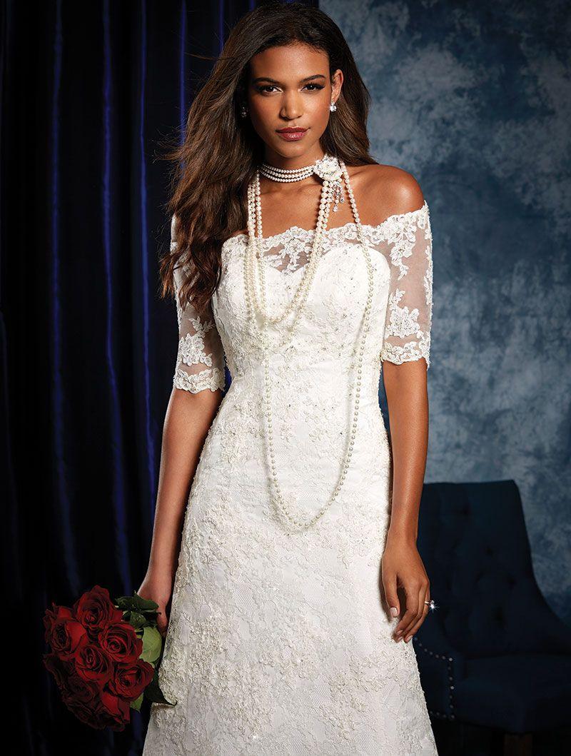 Style 973 size 4 Alfred Angelo Wedding Dress http://www.acsformals ...