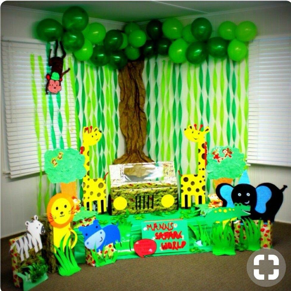 Safari Theme Party Jungle Baby Shower