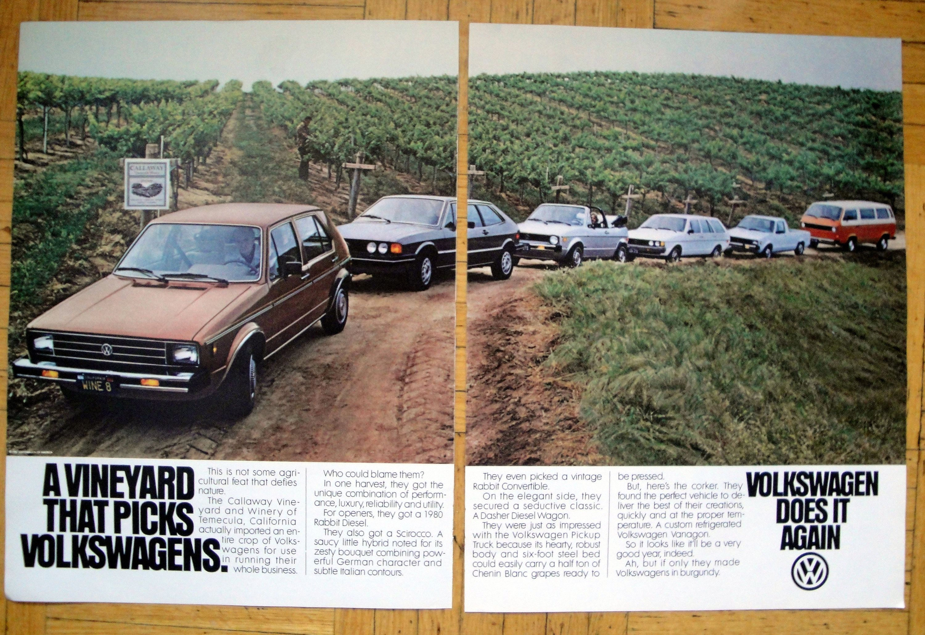 1980 Vw Volkswagen Product Line Temecula Ca Original 2 Page 13