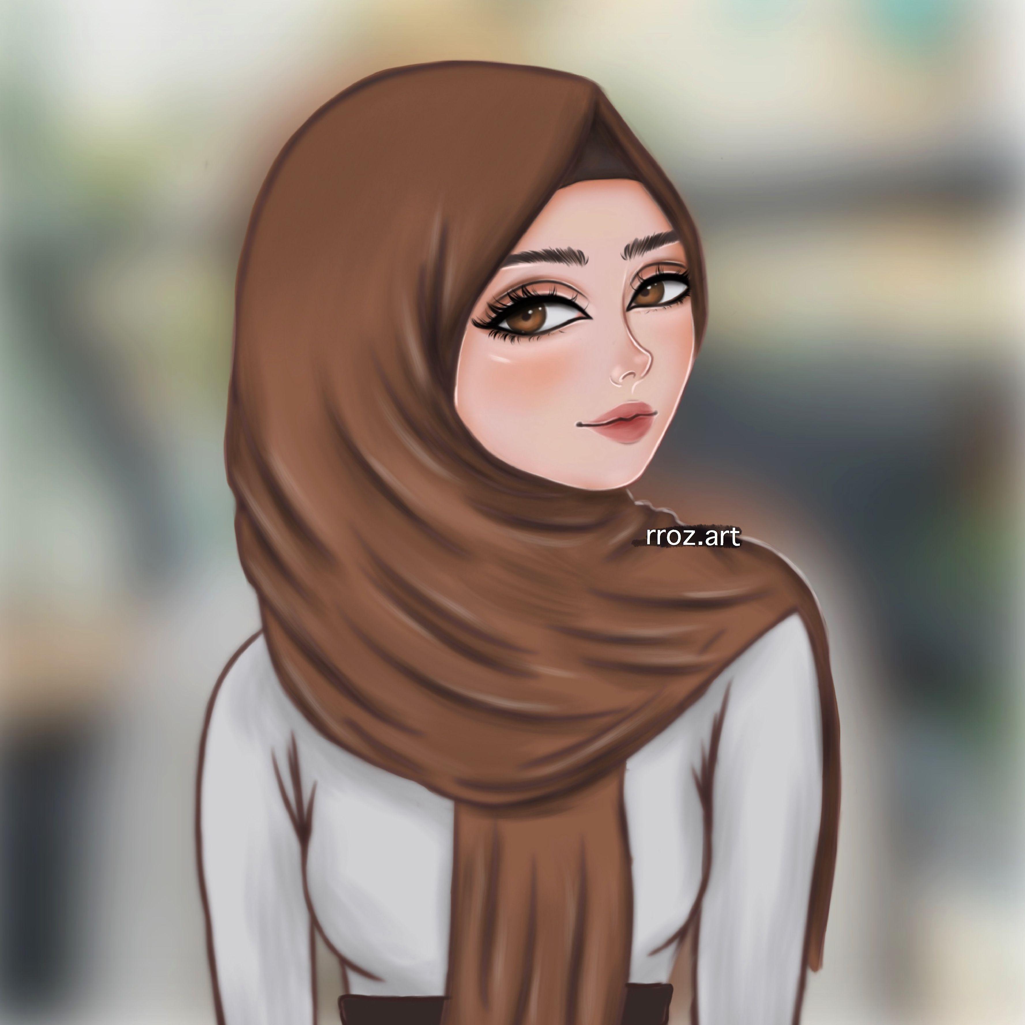 Rroz Art Girl Cartoon Art Drawings