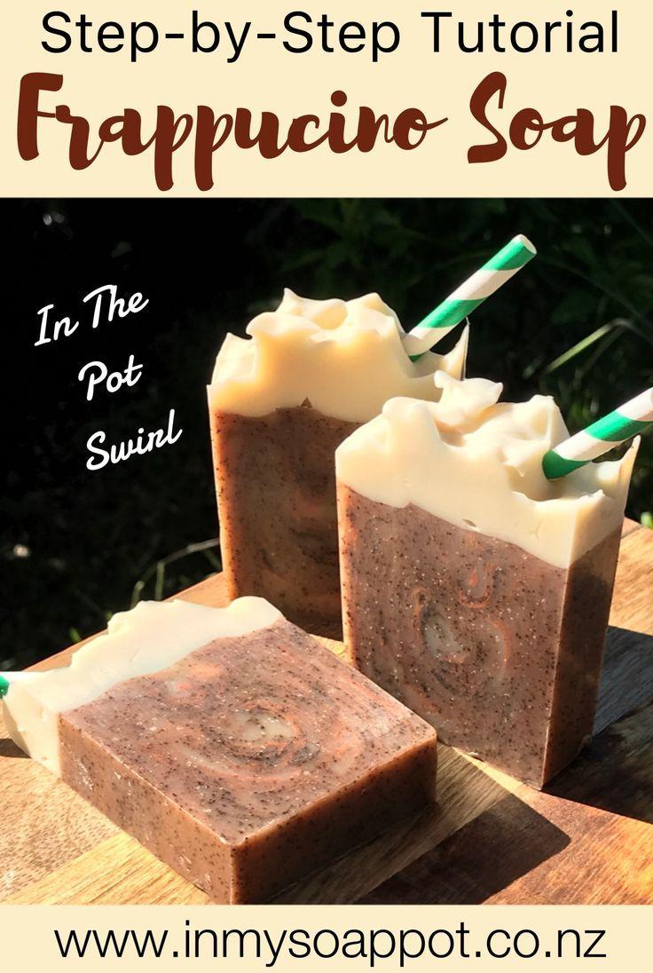 Frappucino Soap Homemade soap recipes, Coffee soap recipe