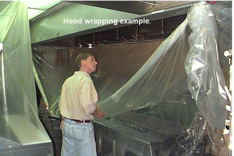 What does your grease hood cleaning service include?, Hood