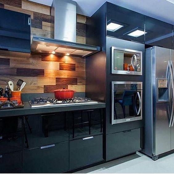 Tendencia en decoraci n de cocinas cocinas modernas fotos - Imagenes de cocinas integrales pequenas modernas ...