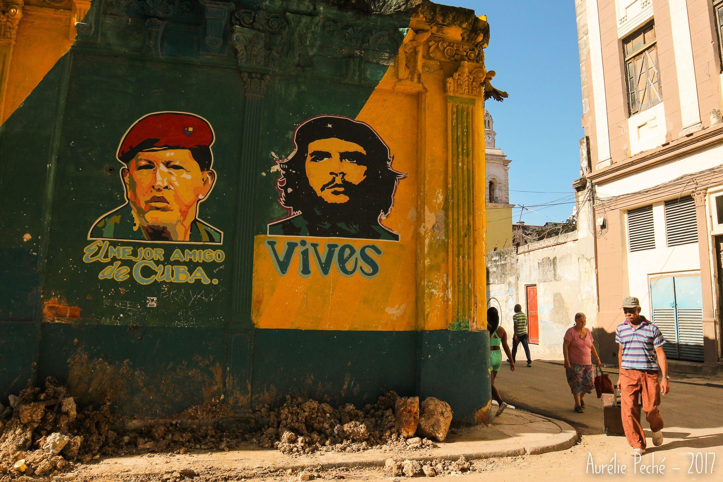 Street Art Et Propagande A La Havane Lahavane Habana Havane