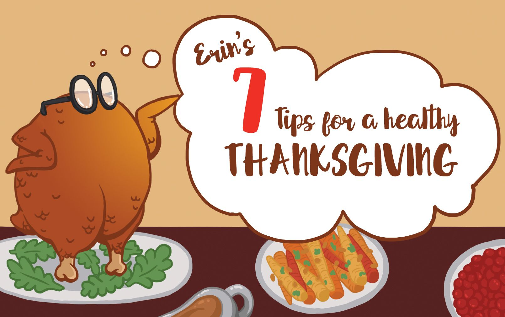 Easy tips for a healthy Thanksgiving and holiday season! Even with a busy schedule, these are easy to fit into your day!