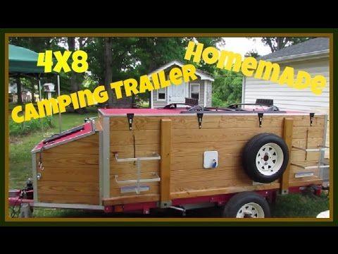 Harbor Freight 4x8 Camping Trailer Camping Trailer Diy Camper Trailer Tent Trailer