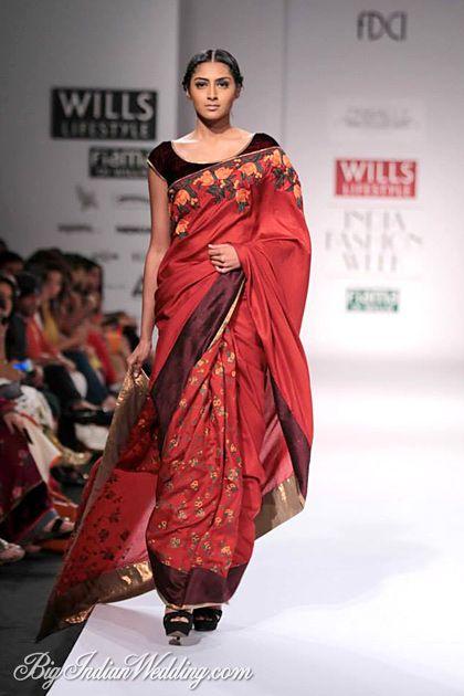 0f9d9a366d0dd Shruti Sancheti designer saree collection