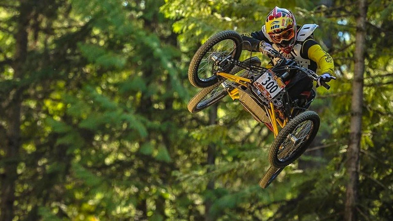 Mountain Biking on Four Wheels is Faster Than Two The