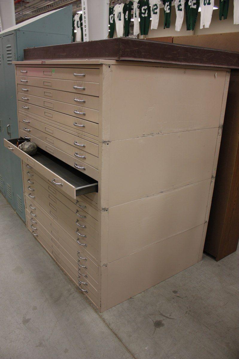 Shallow Drawer Storage Cabinets