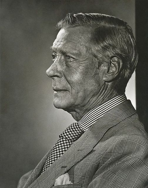 Photo By Unknown Photographer In 1971 Of The Duke Of Windsor Ex