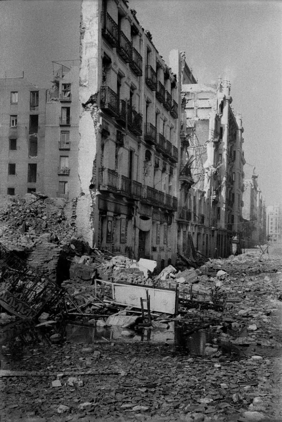 Calle mendiz bal madrid febrero de 1937 guerra civil Calle belen madrid