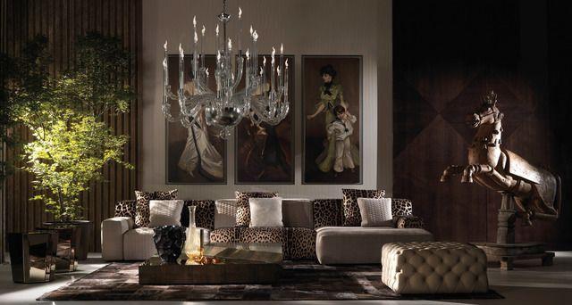 Living Room Roberto Cavalli Home Interiors – ROBERTO CAVALLI HOME INTERIORS – MAISON&OBJET AMERICAS