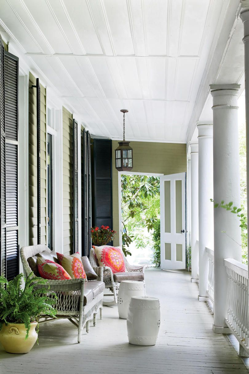 Front Porches That Have Us So Ready For Fall With Images House