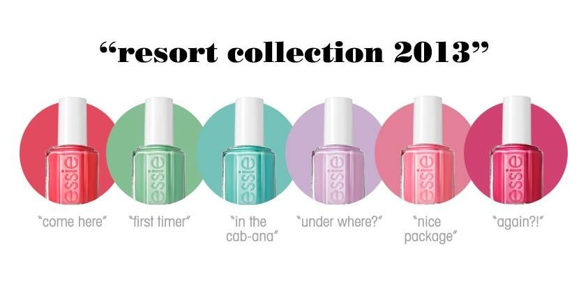 Essie Resort Collection 2013. I want!!!! Loving the blue