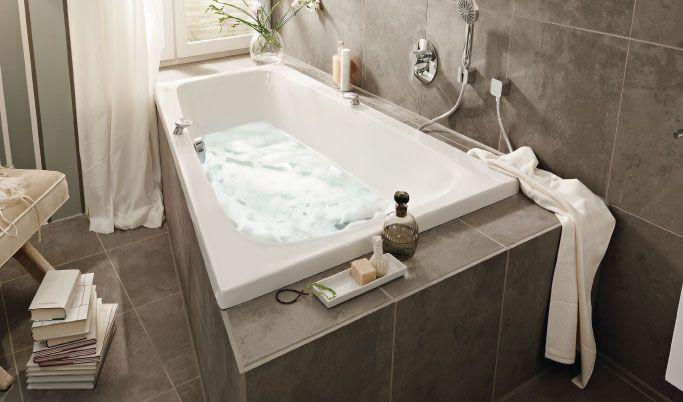 Badewanne DIANA Life bietet Platz für Zwei modernes Badezimmer - badezimmer 10 quadratmeter