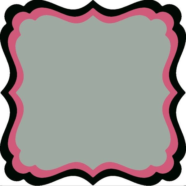 Half XXL Square Frame Frilly #2 | ideas creativas | Pinterest ...