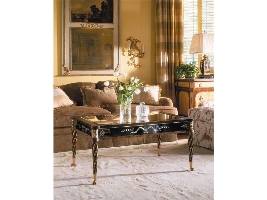 EJ Victor Living Room Julia Gray Cocktail Table 9301-40-210AGL - Gasiors Furniture & Interior Design - Belle Mead, NJ
