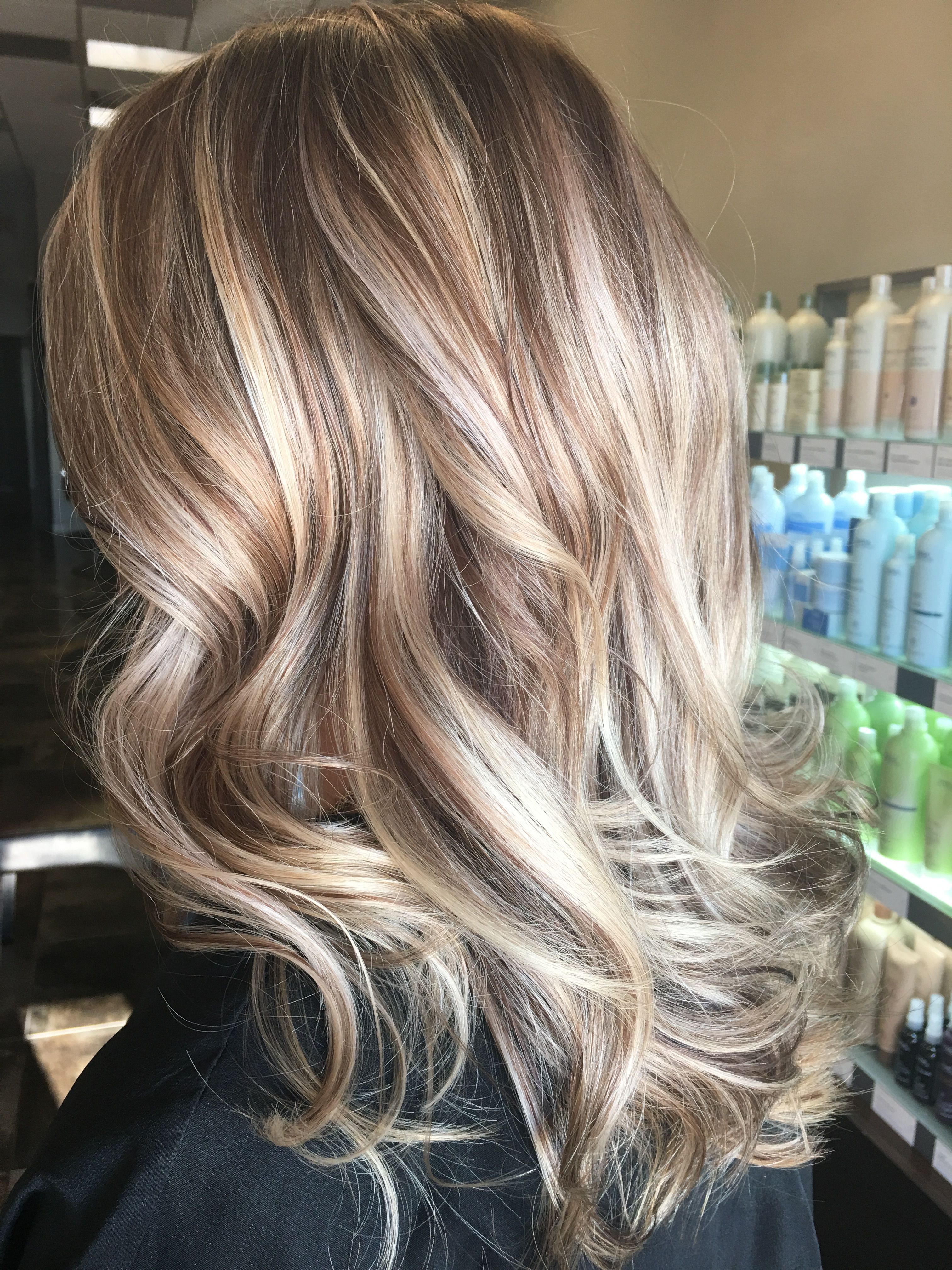 Beautiful fall winter high and low lights Hair Pinterest