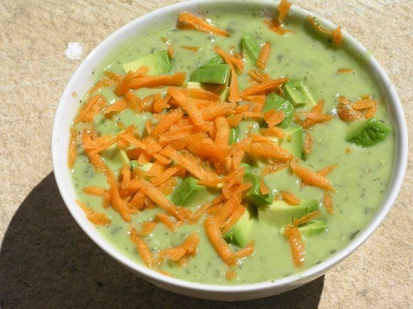 Raw food diet avocado soup avocado soup raw food diet and raw vegan raw food diet avocado soup forumfinder Image collections