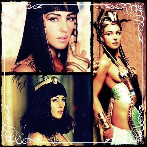 Monica Belucci As Cleopatra In Asterix Obelix Mission Cleopatra Monica Bellucci Egyptian Goddess Egyptian Movies