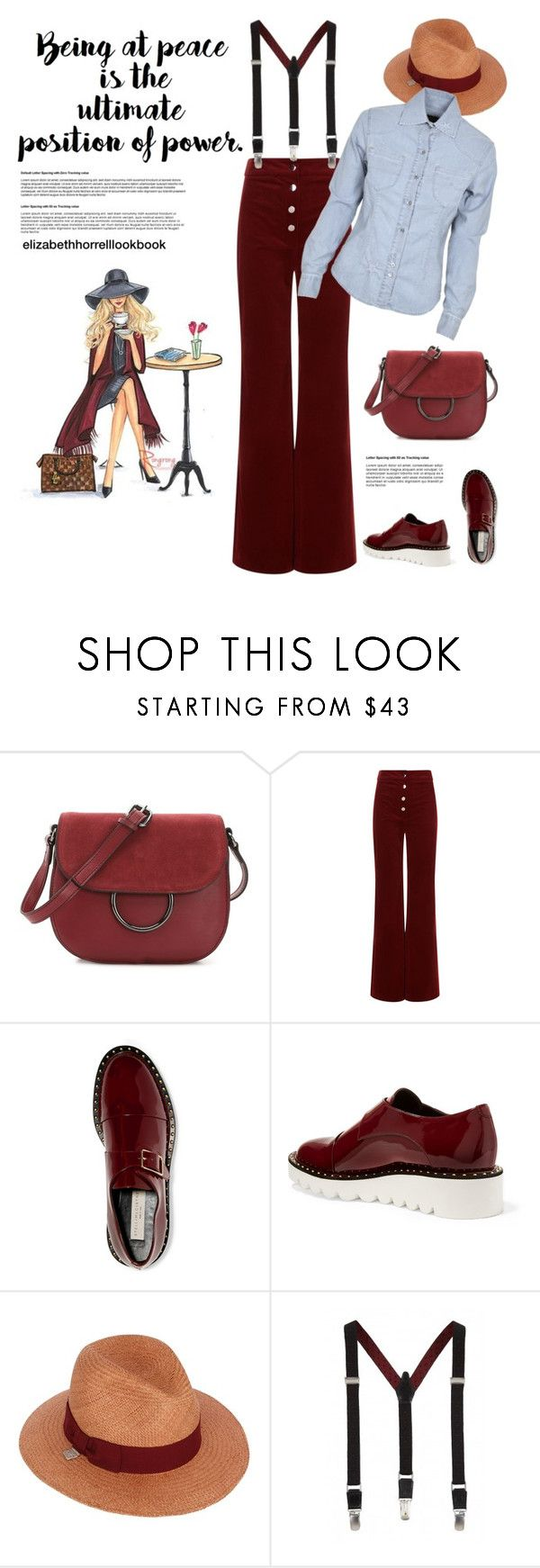 """""""STYLED BY LIZ"""" by elizabethhorrell ❤ liked on Polyvore featuring French Connection, Vanessa Bruno, STELLA McCARTNEY, Alex and Fred Perry"""